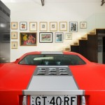 Ford GT40 Living Room Garage-sjb-corben-camperdown 3