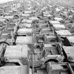 Jeep Willys MB Ford GPW Salvage Yard Okinawa 1949 D